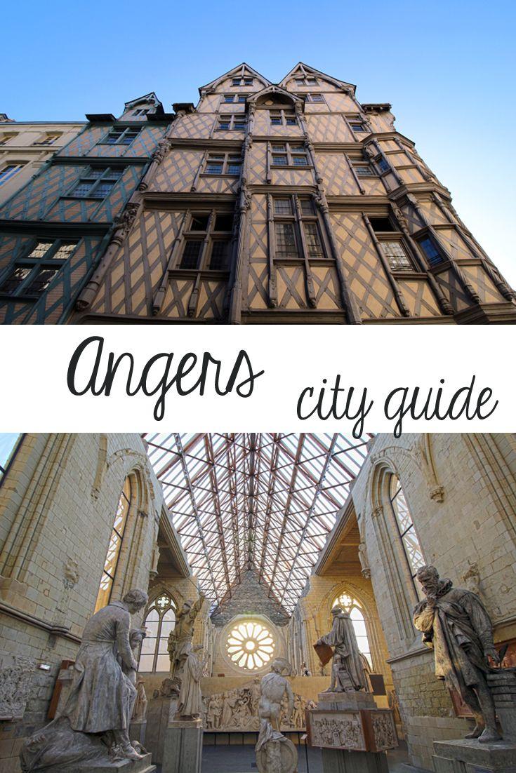 Die besten Veggie-Adressen und die schönsten Sehenswürdigkeiten von Angers, Pays-de-la-Loire (Frankreich)