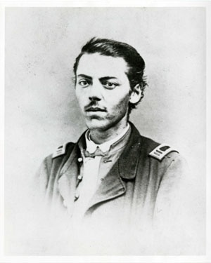 Capt. Eli Lilly, circa 1862. [18th Independent Battery Indiana Light Artillery, Wilder's Brigade, Thomas' Corps]