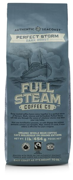 Full Steam Coffee. Organic, fair trade coffee, small batch roasted in Guysborough. Continues the proud 400 year trading history of this coastal village.