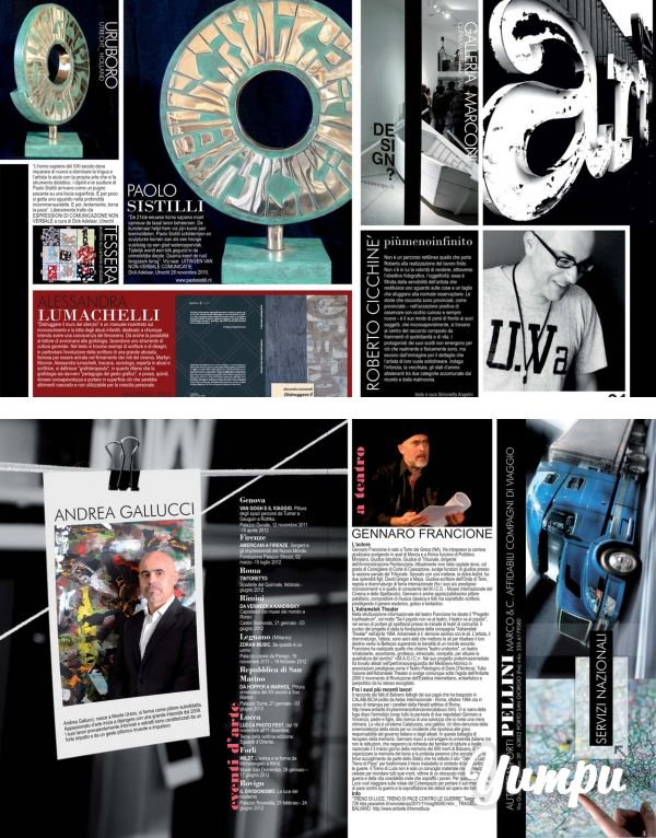 https://www.donnaimpresa.com ARTE CON PELLINI.cdr - Donna Impresa Magazine - Magazine with 2 pages: ARTE CON PELLINI.cdr - Donna Impresa Magazine
