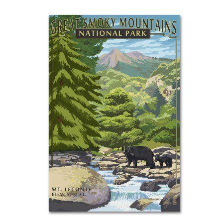 Trademark Fine Art 'Animal 11' Canvas Art by Lantern Press, Size: 16 x 24, Green