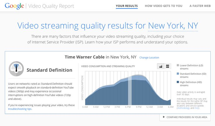 YouTube, following Netflix, is now publicly shaming internet providers for slow video