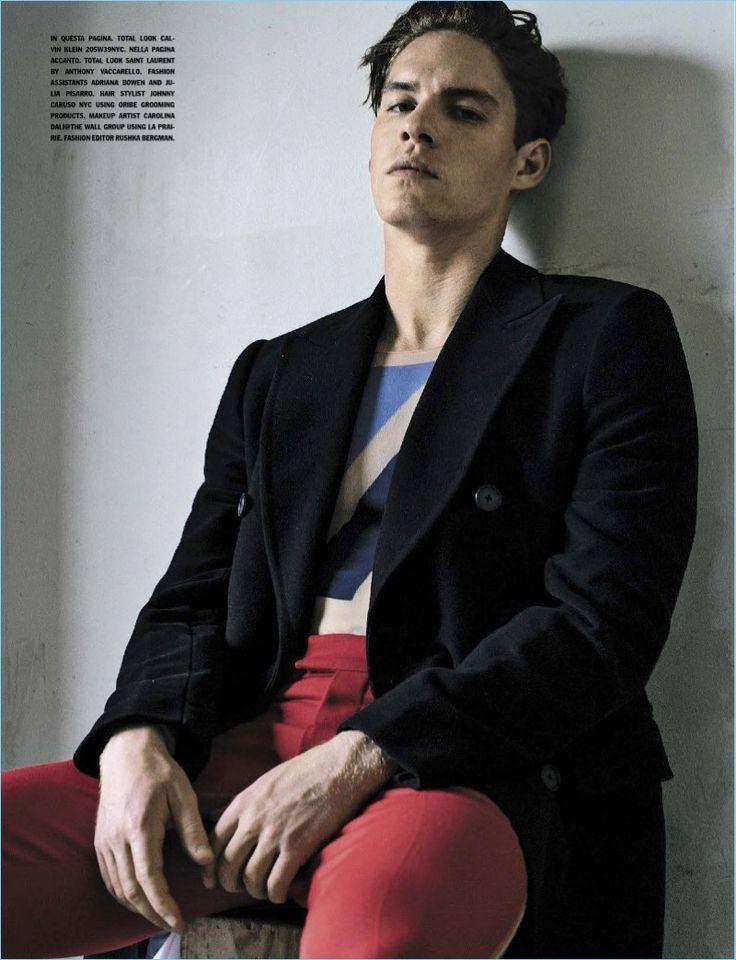 Sebastian Kim for L'Uomo Vogue july 2017