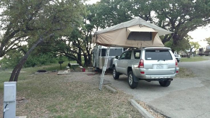 Nice setup of a roof top tent on a 4th gen 4Runner.