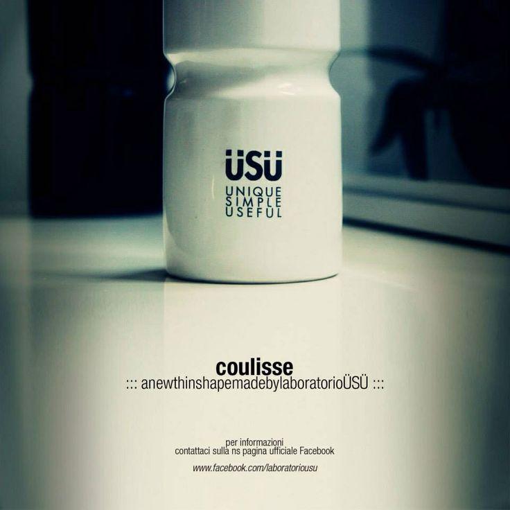 Bottiglia Coulisse 500ml ÜSÜ  Unique Simple Useful  www.laboratoriousu.com