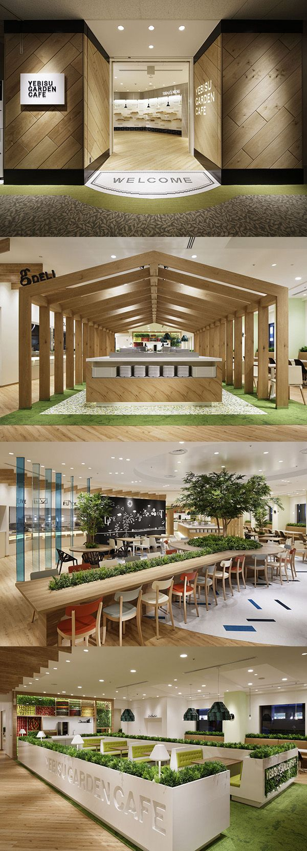 YEBISU GARDEN CAFE, now this is an interesting idea. definitely looks well put together