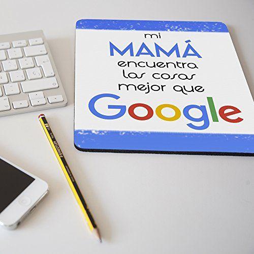 """Nueva alfombrilla para ratón regalo original día de la madre """"Mi mamá encuent…"""