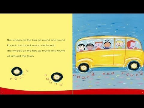 Are you ready to sing along read along to the wheels on the bus? Learn while having fun! #kidsbooks #kidsmusic #lovetosing
