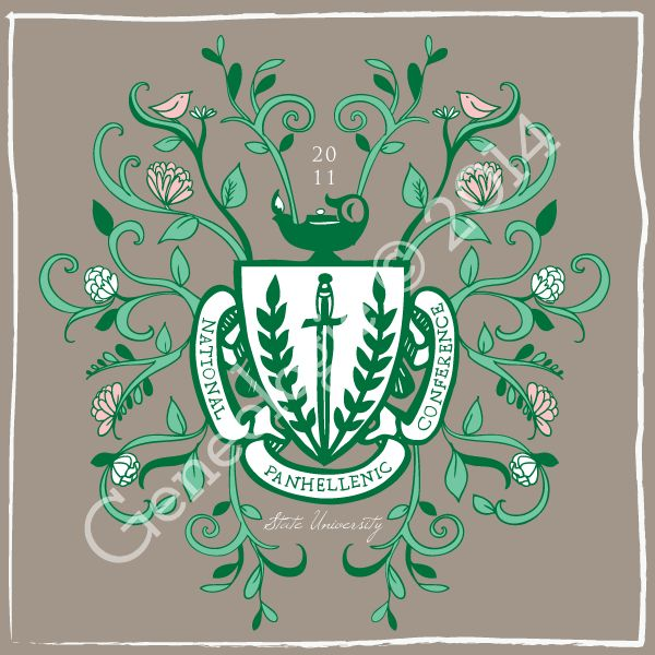 17 Best Images About Panhellenic On Pinterest Floral