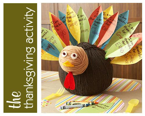 Kids Thanksgiving Projects
