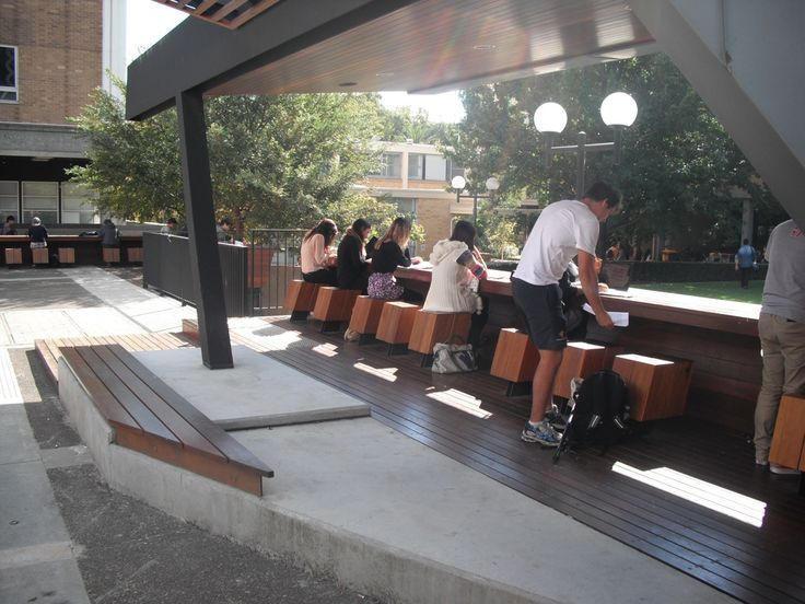Outdoor Study Space Outdoor Learning Study Space Architecture