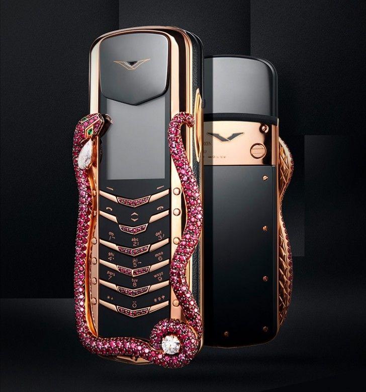 Vertu launches Signature Cobra phone worth $360k