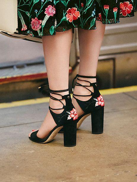 oasis heels, black, large