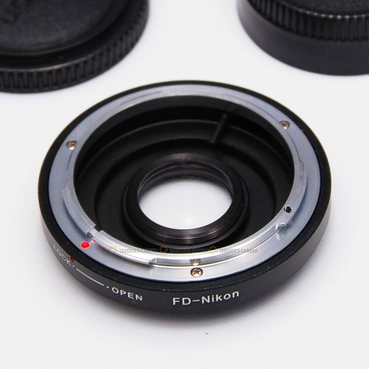 CANON FD Lens to Nikon Body Mount Adapter Ring Glass #UnbrandedGeneric