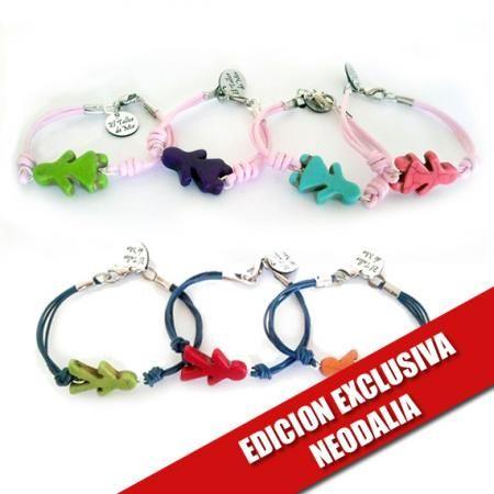 El Taller de Mir ha confeccionado estas pulseras especialmente para nuestros clientes.   http://www.neodalia.com/es/ventas/pulseras-nino-y-nina