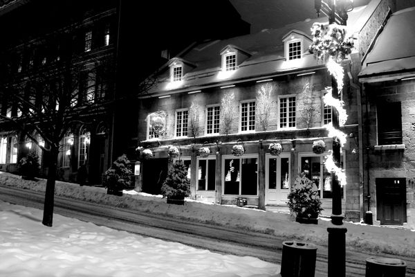 Old Montreal (Place Jacques Cartier)