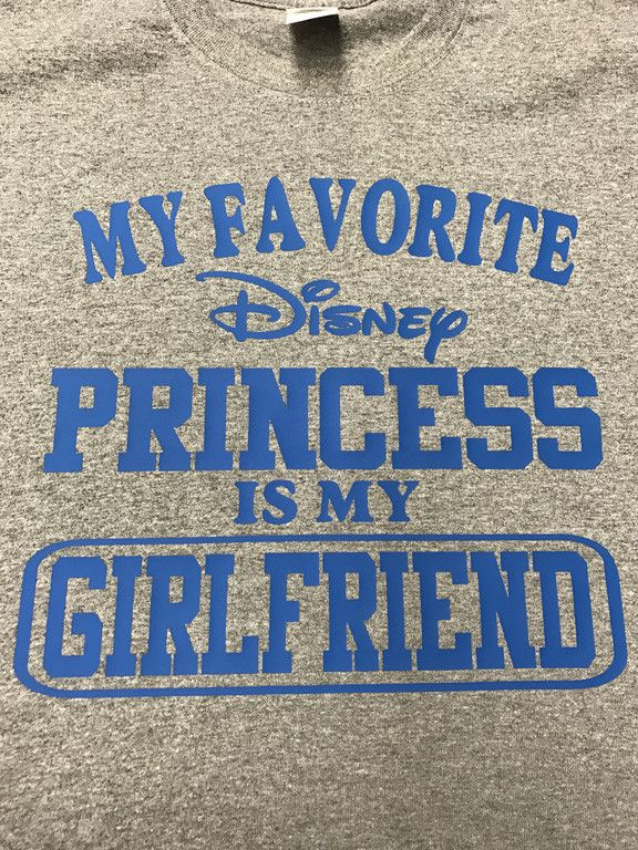 My Favorite Disney Princess if my Girlfriend T-Shirt