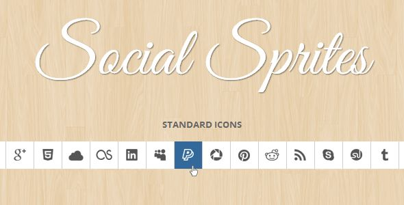 Social Sprites Icons . Social has features such as Compatible Browsers: IE8, IE9, Firefox, Safari, Opera, Chrome, Software Version: CSS3