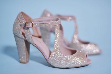 Chaussures mariage glitter Mademoiselle R La Redoute l La Fiancee du Panda blog mariage