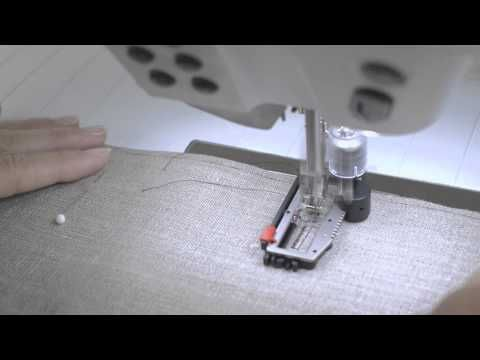 BERNINA 880: how to sew buttonholes and sew on buttons - YouTube