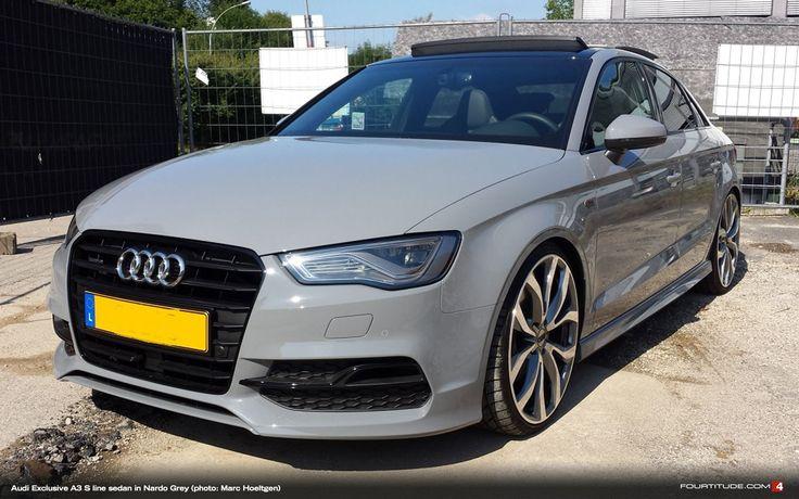 Audi Exclusive Nardo Grey A3 S Line Sedan Be Jealous Be