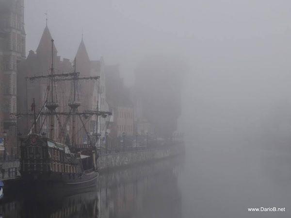 Gdańsk in the fog!