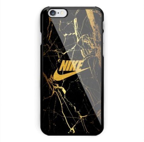 Nike2017-Gold-Marble-Logo-Hard-Plastic-Case-iPhone-6-6s-6s-7-7-8-8-Samsung