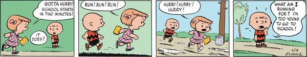 Peanuts Begins Comic Strip, December 22, 2015     on GoComics.com