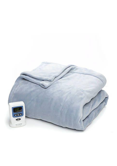 Biltmore® Heated Plush Blanket