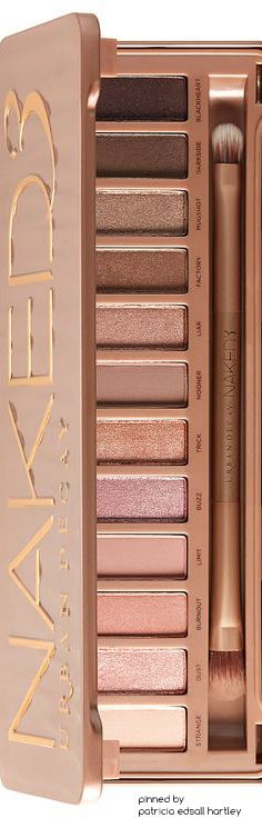 Urban Decay - Naked 3 Christmas idea for Paula,Grandma,or Mom  https://www.djpeter.co.za