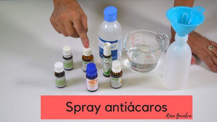 Cómo hacer un spray antiácaros usando aceites esenciales - YouTube