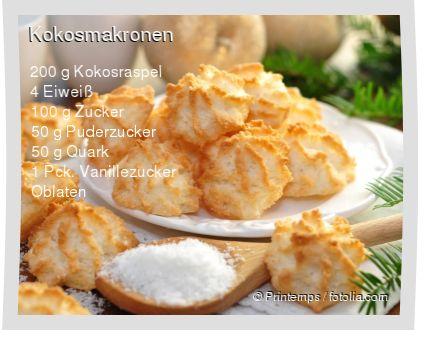 Leckeres Kokosmakronen Rezept mit einfacher Schritt-für-Schritt-Anleitung: Eiwe …