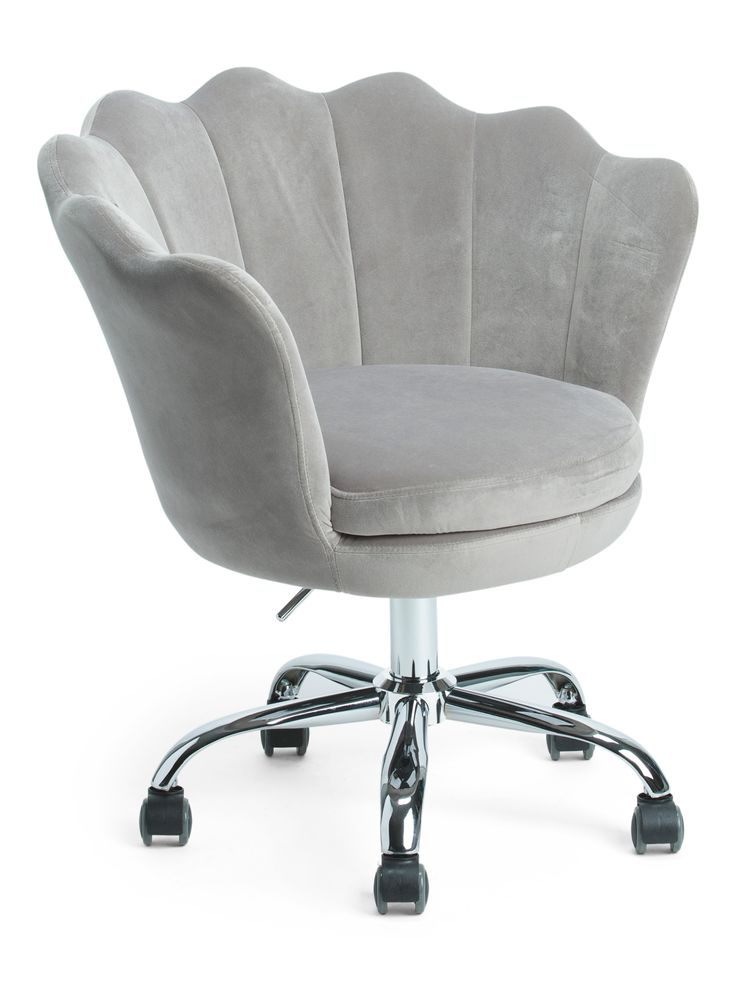 Alana velvet office chair accent furniture tjmaxx in