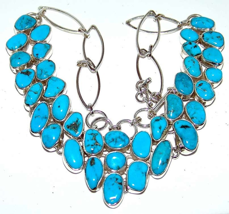 Sterling Silver Jewelry with Turquoise Gemstone