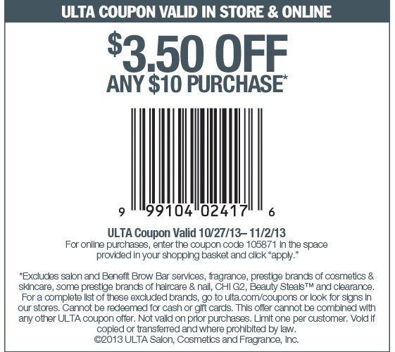 Ulta coupon 5 off 10 december