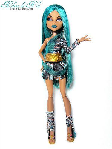 monster high doll cleos sister nefra