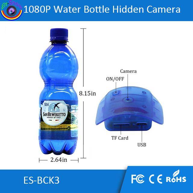 Drinking 1080P HD Security DVR Camcorder Water Bottle Hidden Spy Camera