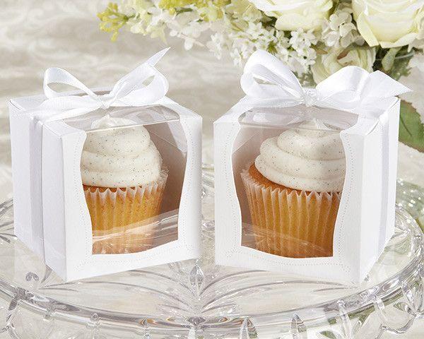 """Sweetness & Light"" Cupcake Boxes (Set of 12)"