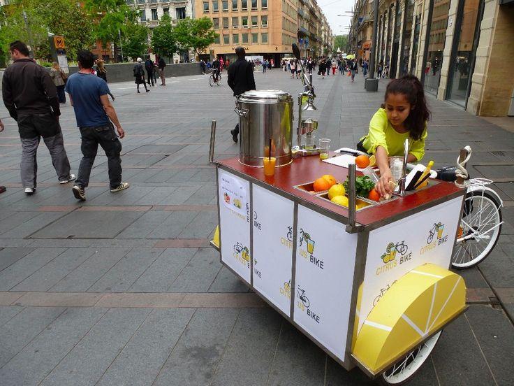 La folie des triporteurs envahit les rues de Toulouse ! On est parti à la rencontre de ces vendeurs à vélo...