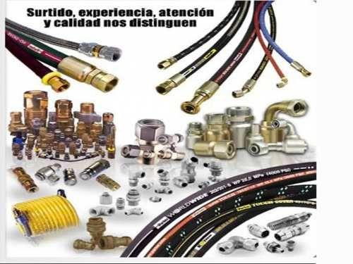 Mangueras industriales hidráulicas, correas A, B, C, D, 3VX, 5VX, 8V, cadenas de transmisión link-belt tipo 40-1, 50-1, 60-2, 80-3,