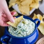 Skinny Spinach and Artichoke Dip Recipe