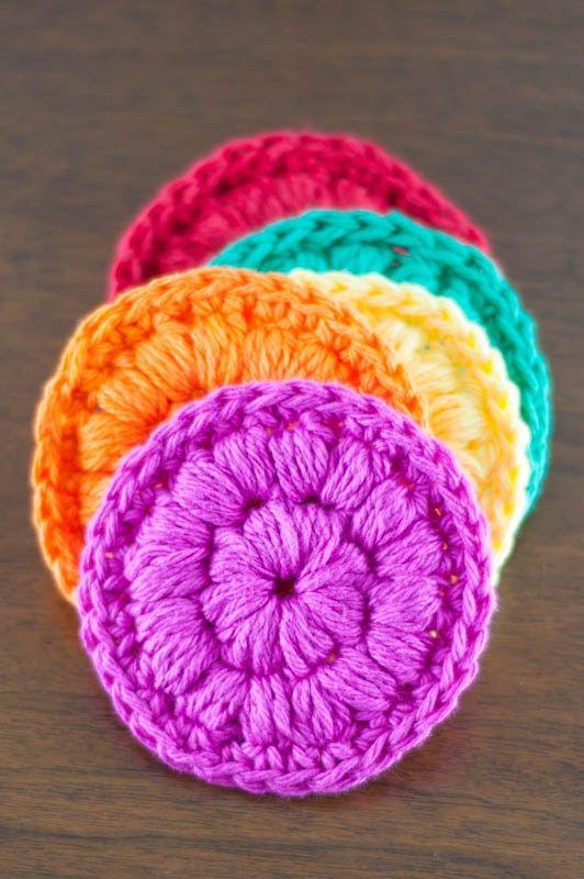 Mejores 36 imágenes de Crochet bath en Pinterest | Artesanías ...