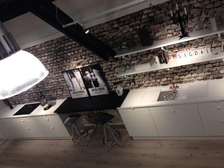 Sigdal kjøkken as, modell uno utstilt hos studio sigdal i ...