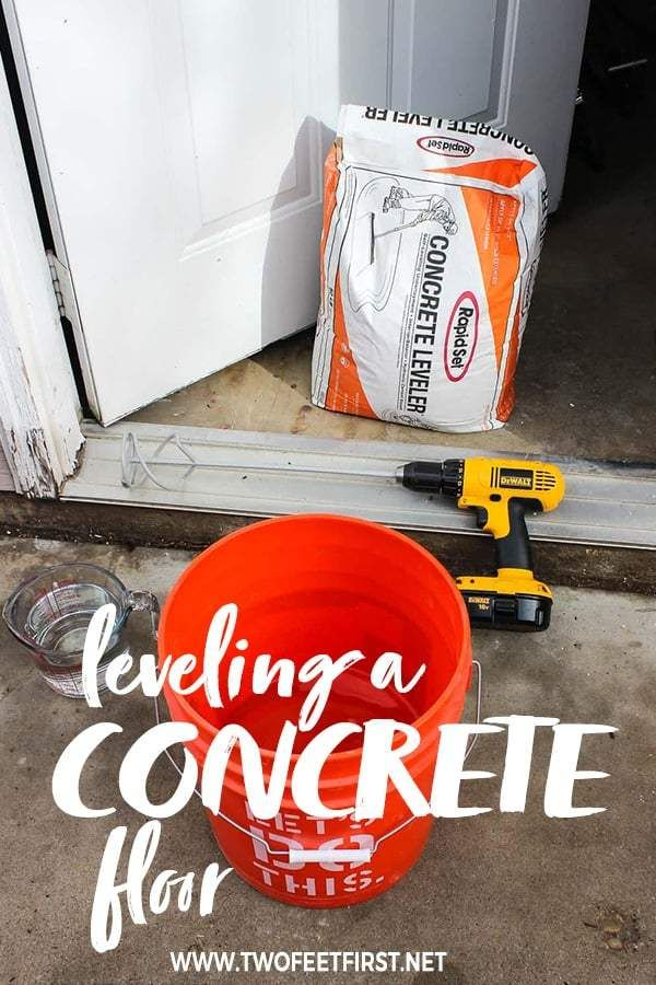 How To Level A Concrete Floor With Self Leveling Concrete