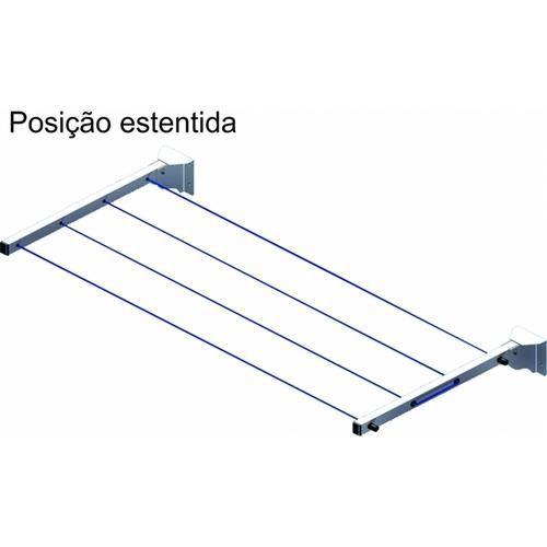 Varal De Parede Retrátil Aço De Carbono ... - Shoptime.com