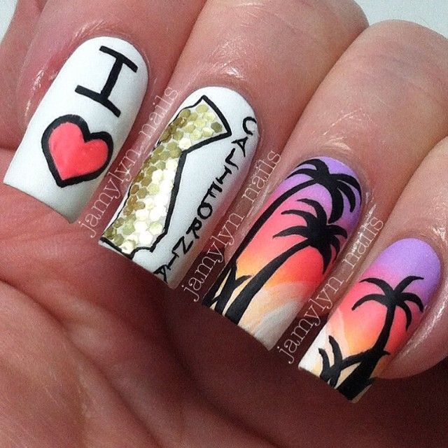 Instagram photo by jamylyn_nails #nail #nails #nailart | See more nail designs at http://www.nailsss.com/nail-styles-2014/