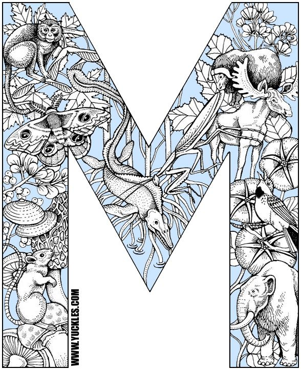 Letter A Coloring Pages For Adults 59 Best Images On Pinterest