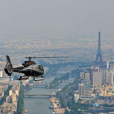 Baptême de lair en hélicoptère Survol de Paris 75 - Sport Découverte - http://www.sport-decouverte.com/