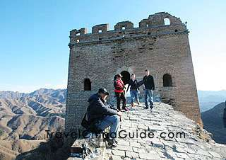 I really want to see the nice section of the Great Wall that they have spiffed up for tourists and the rambling, falling down section that is in its more natural state after so many centuries.