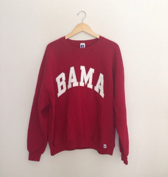 Vintage College Crewneck Sweatshirts